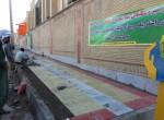 آغاز به کار پیاده رو سازی وکفپوش خیابان امام ضلع غربی