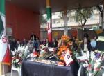 ابراز همدردی کارکنان شهرداری شوشتر با آتش نشانان