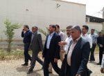 بازدید  نماینده شهرستان به همراه شهردار و اعضای محترم شورا از پروژه های عمرانی