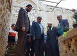 حضور شهردار  در اماکن تاریخی  و مذهبی شهرستان