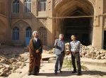 خاکبرداری از منزل حاج شیخ جعفر شوشتری