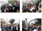 چهلمین سالگرد پیروزی انقلاب اسلامی شهر شوشتر هم اکنون با حضور مسئولین و پرسنل شهرداری شوشتر