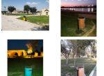 نصب ۱۲۰ سطل زباله در پارکهای سطح شهر شوشتر