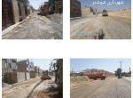 آغاز عملیات تعریض و زیرسازی خیابانهای آزادگان ۱۴ و ۱۵