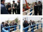 بازدید شهردار و اعضای شورای اسلامی شهر شوشتر از روند تکمیلی پروژه زیرگذر