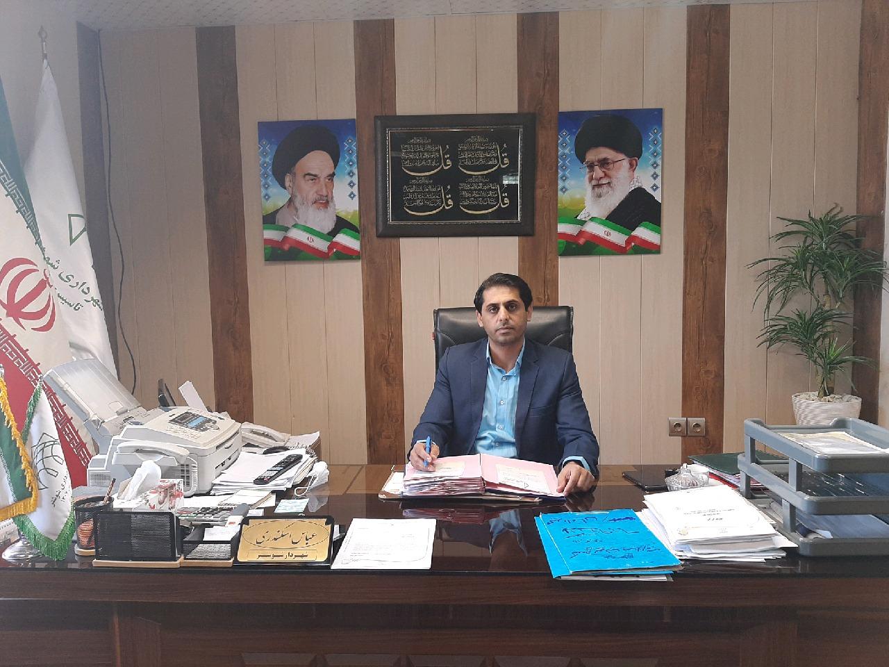 پیام تبریک شهردار شوشتر به مناسبت ۱۴ تیرماه روز شهرداری ها