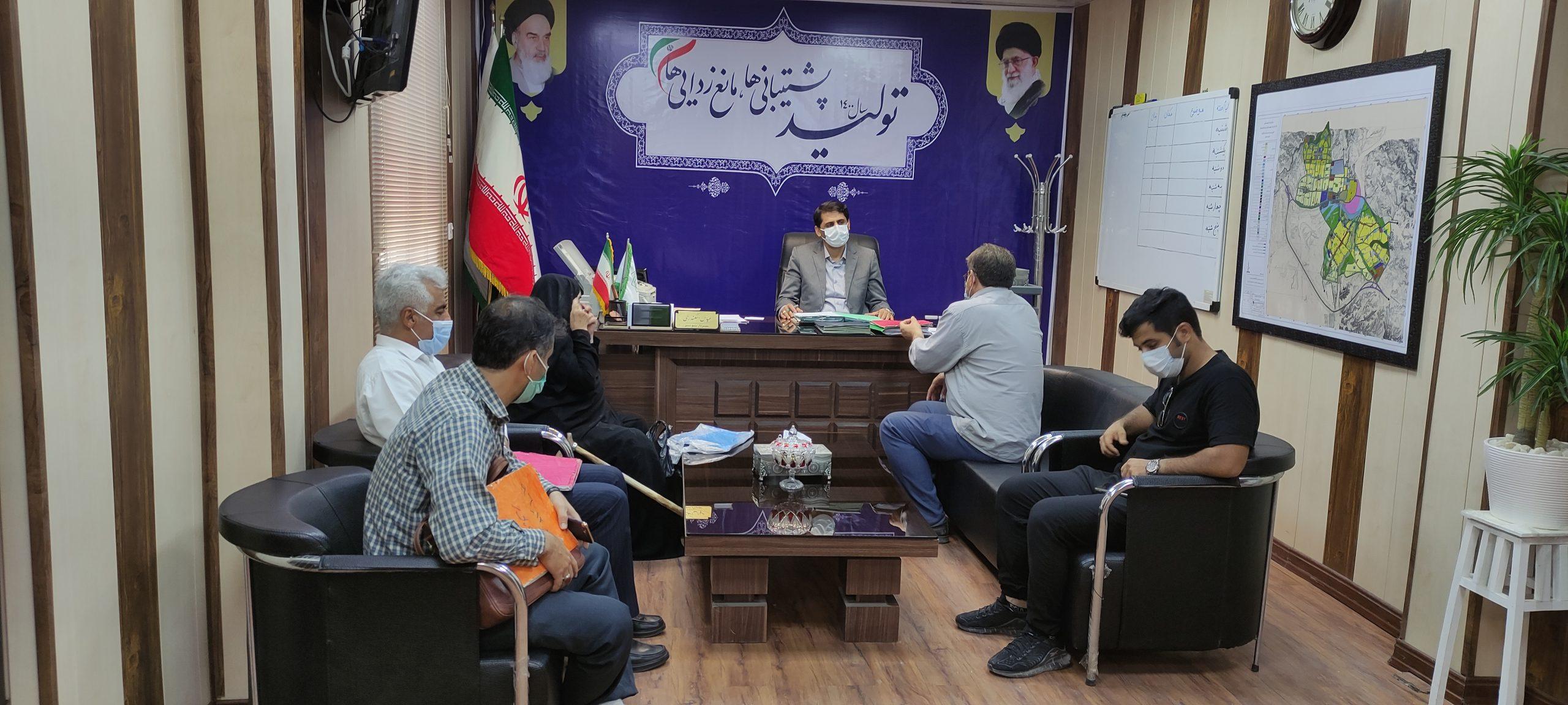 در راستای تکریم ارباب رجوع/جلسه ملاقات مردمی شهردار کهن شهر شوشتر برگزار شد