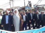 در حمایت از بیانات مقام معظم رهبری ومحکوم کردن اقدام آشوبگران انجام گرفت؛ حضور کارکنان شهرداری شوشتر در راهپیمایی