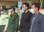 گزارش تصویری برگزاری صبحگاه مشترک نیروهای مسلح بمناسبت هفته دفاع مقدس در کهن شهر شوشتر
